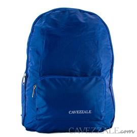 Mochila Dobrável de Nylon Cavezzale Azul 0101221
