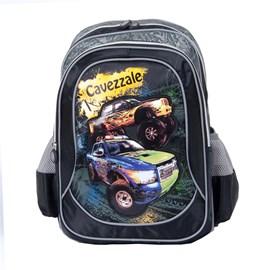 Mochila Escolar Cavezzale Truck 055605 Preto