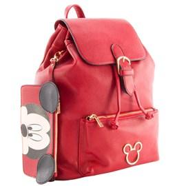 Mochila Feminina Mickey Mouse Vermelho 099537