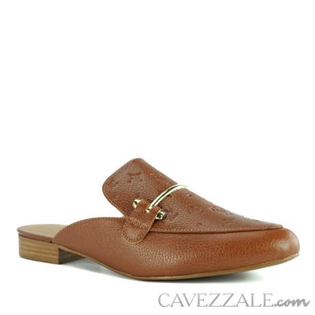 Mule de Couro Cavezzale Camel 102302