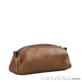 Necessaire Couro Cavezzale 015675 Caramelo