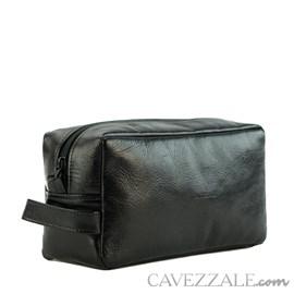 Necessaire Couro Cavezzale 015676 Preto