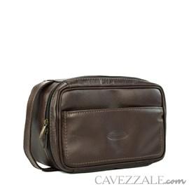 Necessaire Couro Cavezzale 053018 Café