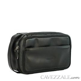 Necessaire Couro Cavezzale 053018 Preto
