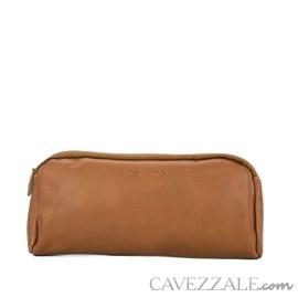 Necessaire De Couro Cavezzale Marrom 099032