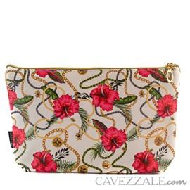 Necessaire Feminina Cavezzale Floral 101332
