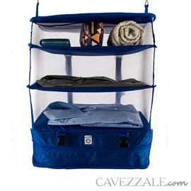 Organizador de Mala de Viagem Azul Cavezzale 0101220