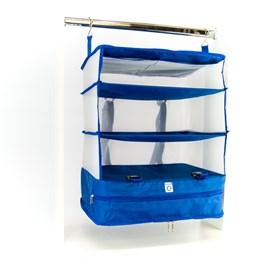 Organizador De Mala De Viagem Azul Cavezzale 097809