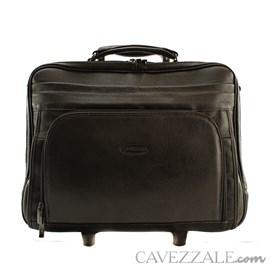 Pasta Com Rodas Couro Executivo Cavezzale Café 056534