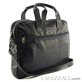 PASTA COURO EXECUTIVO CAVEZZALE AZUL 053595