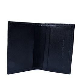 Porta Cartão Couro Médio Preto Cavezzale 055885