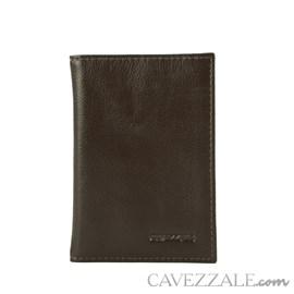 Porta Cartões Couro Cavezzale 011635 Marrom