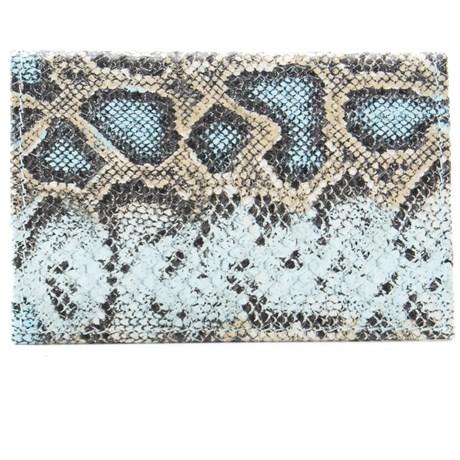 Porta Cartões De Couro Cavezzale 098855 Azul