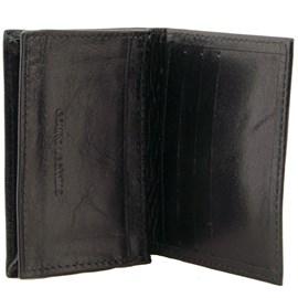Porta Cartões De Couro Cavezzale 099548 Preto