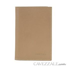 Porta Cartões de Couro Cavezzale Areia 101130