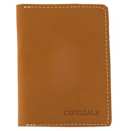 Porta Cartões De Couro Cavezzale Caramelo 0100448