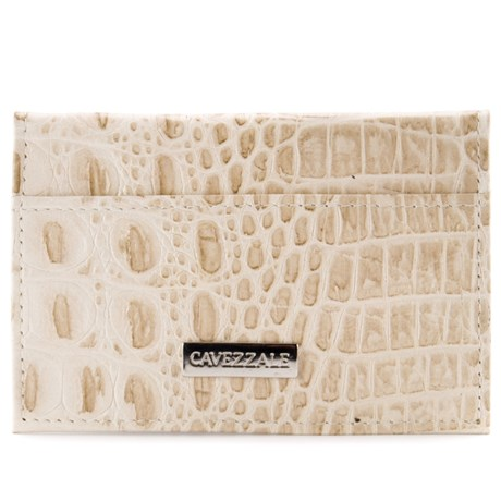 Porta Cartões De Couro Cavezzale Creme 056401
