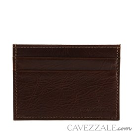 Porta Cartões de Couro Cavezzale Pinhão 101809