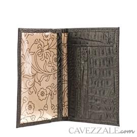 Porta Cartões De Couro Cavezzale Preto 056401