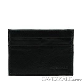 Porta Cartões de Couro Cavezzale Preto 101809