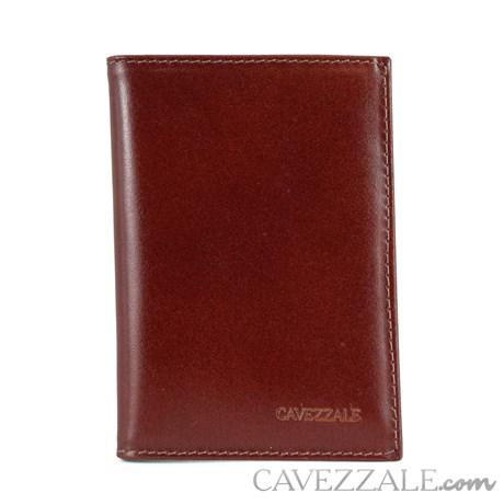 Porta Cartões de Couro Cavezzale Telha 101130