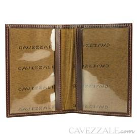 Porta Documentos Couro Cavezzale Pinhão 015687