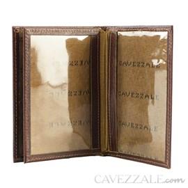 Porta Documentos Couro Cavezzale Pinhão 099714