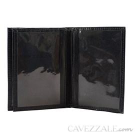 Porta Documentos Couro Cavezzale Preto 099714