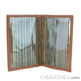 Porta documentos de Couro Cavezzale Argila 56615