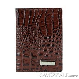 Porta Documentos de Couro Cavezzale Café 101066