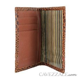 Porta documentos de Couro Cavezzale Caramelo 101564