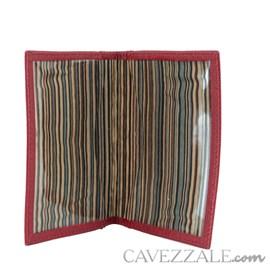Porta documentos de Couro Cavezzale Cereja 56615