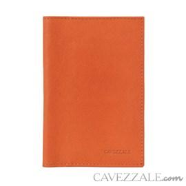 Porta Documentos de Couro Cavezzale Laranja 101749