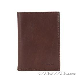 Porta Documentos De Couro Cavezzale Marrom 101129