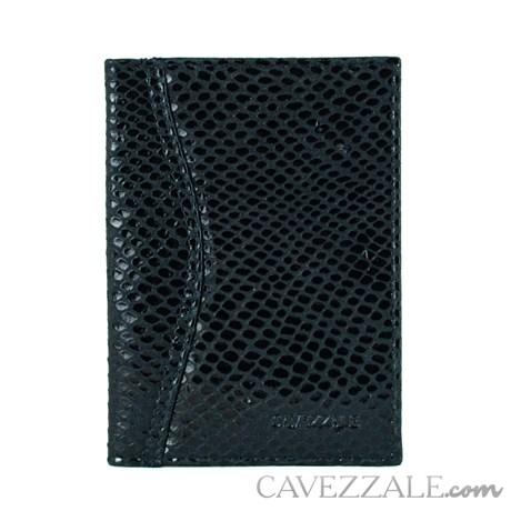 Porta documentos de Couro Cavezzale Preto 0101056