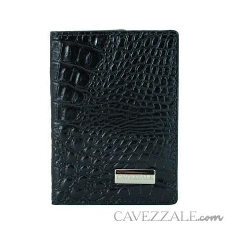 Porta Documentos de Couro Cavezzale Preto 101066