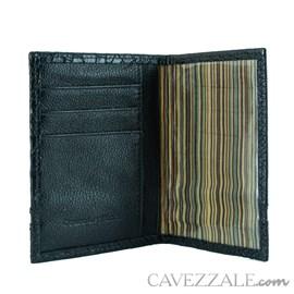 Porta documentos de Couro Cavezzale Preto 101564