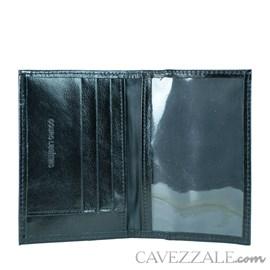 Porta Documentos de Couro Cavezzale Preto 102378