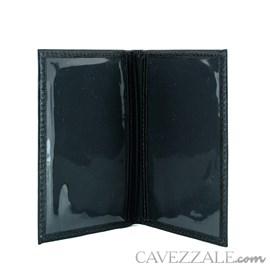 Porta Documentos de Couro Cavezzale Preto 99640