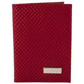 Porta Documentos de Couro Cavezzale Vermelho 099639