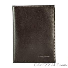 Porta Passaporte Couro Cavezzale 015236 Marrom