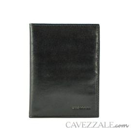 Porta Passaporte Couro Cavezzale 015236 Preto