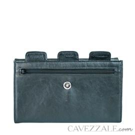Porta Passaporte Couro Cavezzale 055985 Preto