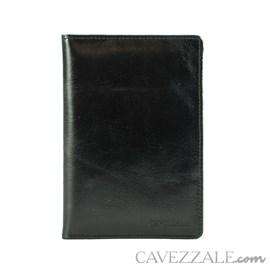 Porta Passaporte Couro Cavezzale 056136 Preto