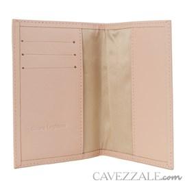 Porta Passaporte de Couro Cavezzale Nude 101749