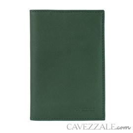 Porta Passaporte de Couro Cavezzale Oliva 101749