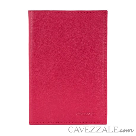 Porta Passaporte de Couro Cavezzale Pink 101749