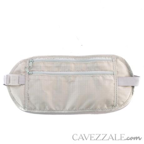 Porta Valores de Cintura Cavezzale Cinza 101227