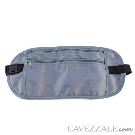 Porta Valores de Cintura Cavezzale Cinza Claro 101227