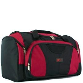 Sacola De Viagem Luxcel Preto Com Vermelho Em Poliéster 099820